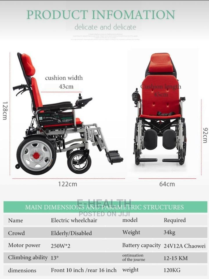 Motorized Wheel Chair   Medical Supplies & Equipment for sale in Surulere, Lagos State, Nigeria