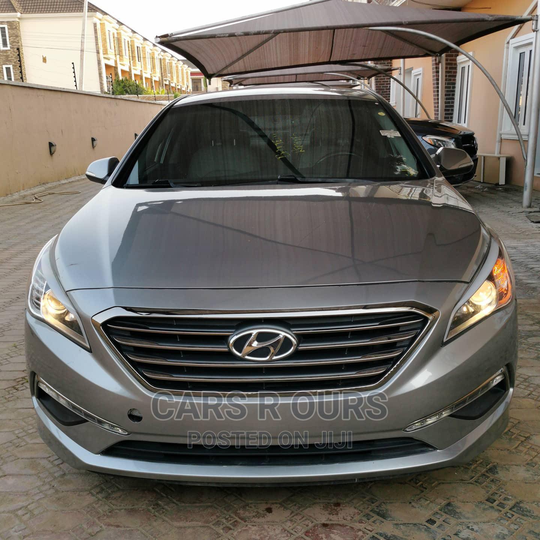 Hyundai Sonata 2015 Gray
