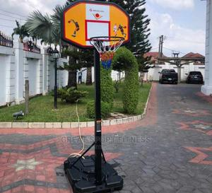 Basketball Stand With Standard Rim   Sports Equipment for sale in Lagos State, Victoria Island
