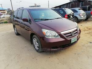 Honda Odyssey 2005 EX Automatic Red | Cars for sale in Akwa Ibom State, Uyo