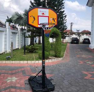 Basketball Stand With Rim and Net   Sports Equipment for sale in Lagos State, Lekki