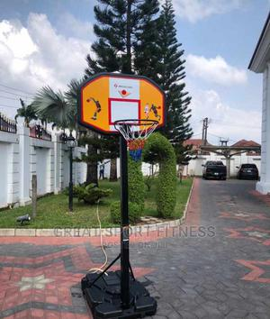 Standard Basketball Stand With Rim.American Fitness   Sports Equipment for sale in Lagos State, Ikeja