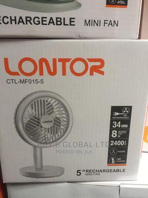 Lontor Rechargeable Mini Fan | Home Appliances for sale in Lagos State, Lagos Island (Eko)