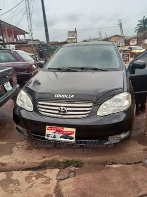 Toyota Corolla 2004 Sedan Black | Cars for sale in Edo State, Benin City