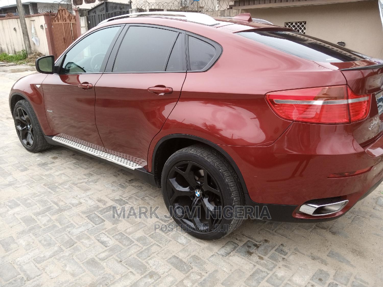 BMW X6 2011 Red