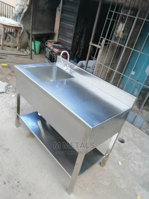 Industrial Sink and Work Table | Restaurant & Catering Equipment for sale in Lagos State, Surulere