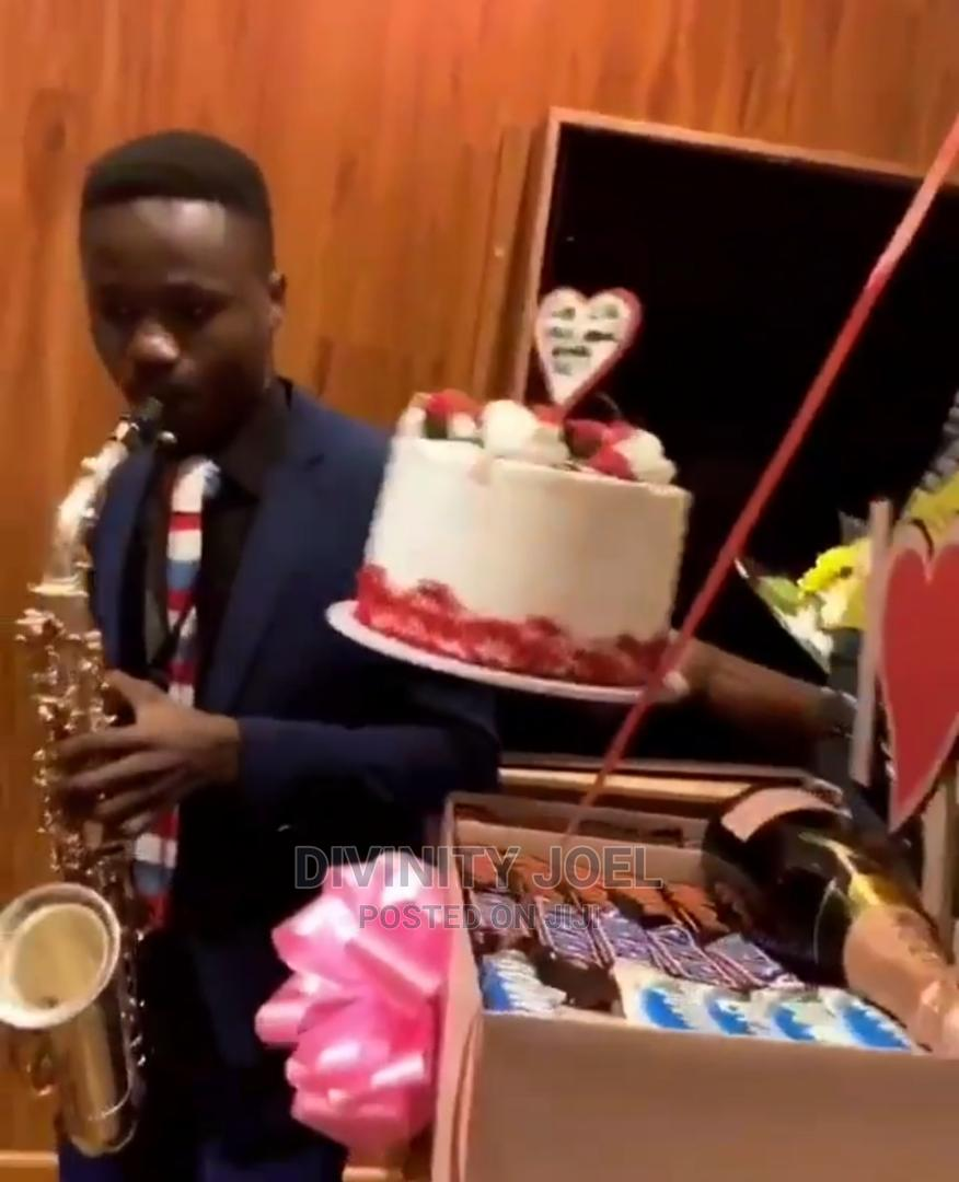 Birthday Saxophone Surprise