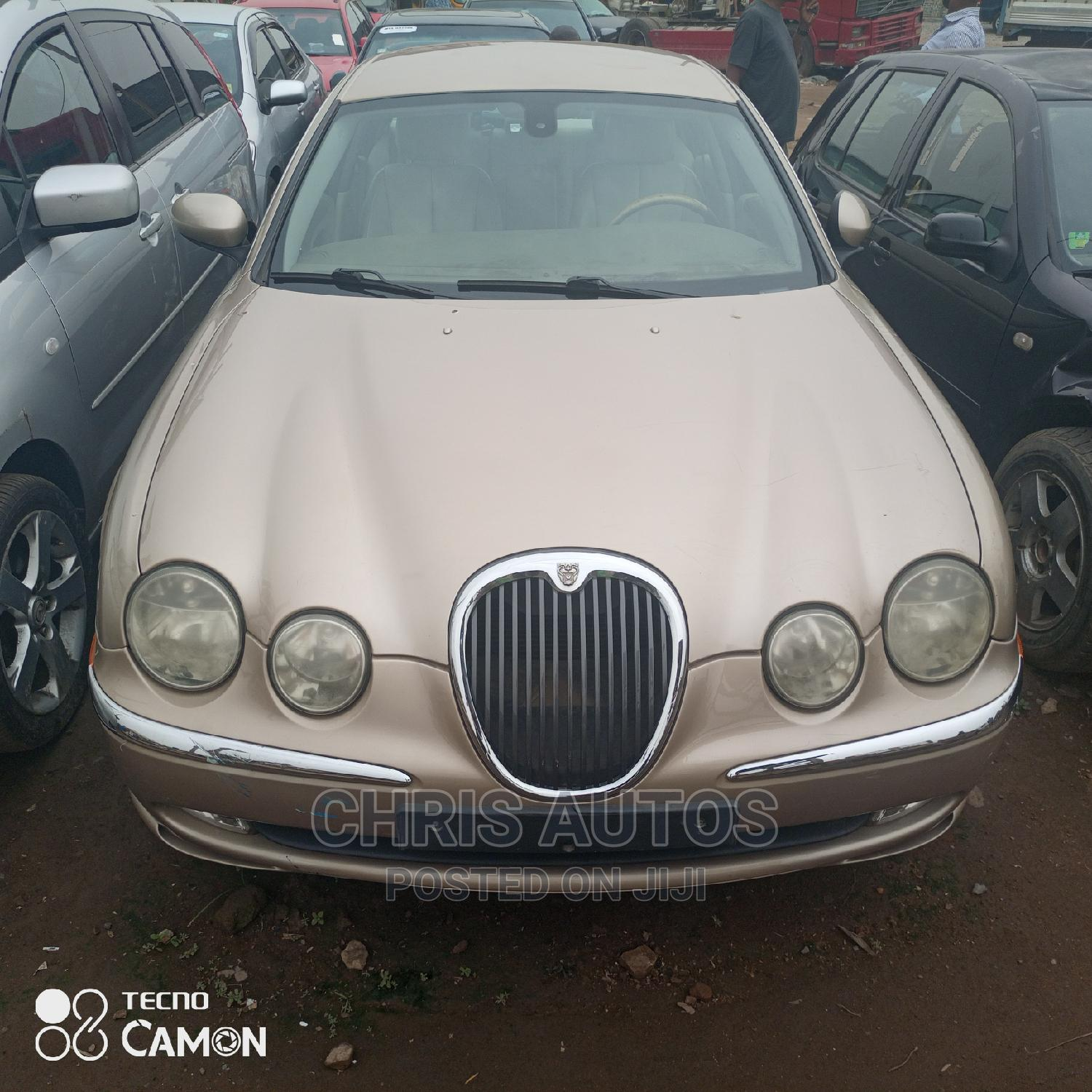 Jaguar S-Type 2003 3.0L V6 Gold | Cars for sale in Abule Egba, Lagos State, Nigeria