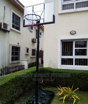 Fibre Glass Basketball Stand   Sports Equipment for sale in Lagos State, Ikorodu