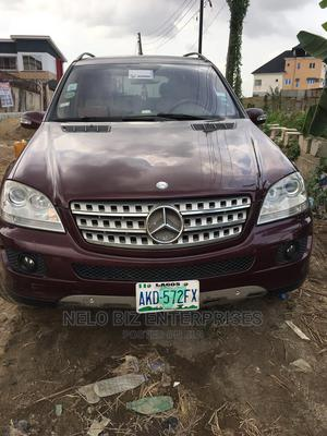 Mercedes-Benz M Class 2009 ML350 4x2 Red | Cars for sale in Lagos State, Yaba