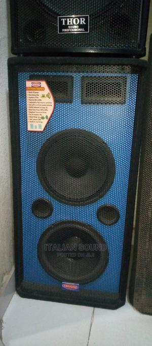 Double 12inchs Speaker   Audio & Music Equipment for sale in Lagos State, Ojo