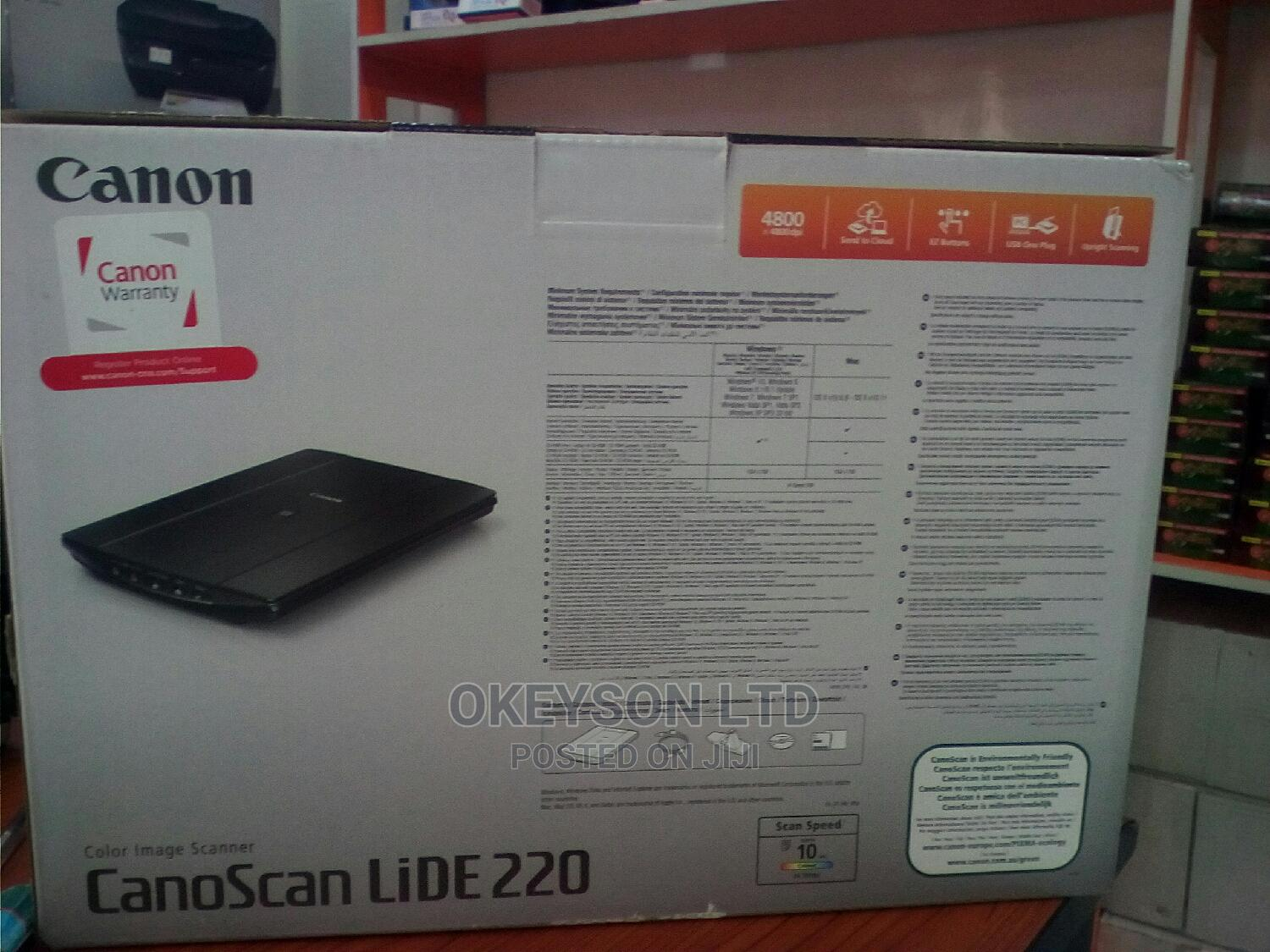 Canon Canoscan Lide Scanner | Printers & Scanners for sale in Ikeja, Lagos State, Nigeria