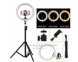 12 Inches Led Ring Light With Stand and Phone Holder   Accessories & Supplies for Electronics for sale in Lagos State, Ikeja