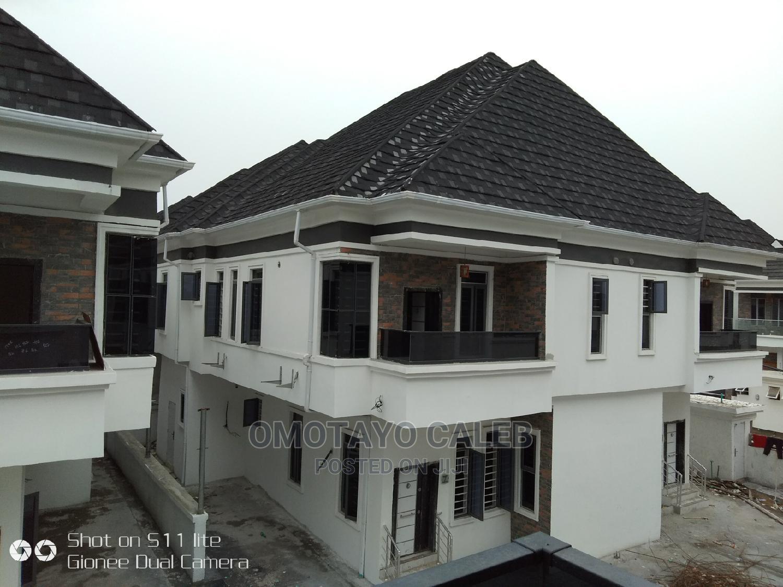 Nicer 4 Units of Semi Detached Duplex in an Estate.