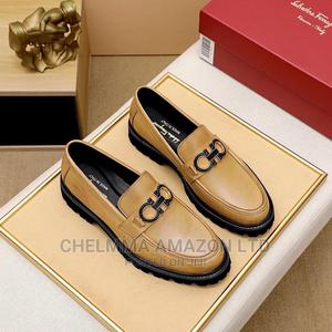 Ferragamo Leather Loafers | Shoes for sale in Lagos State, Ikoyi
