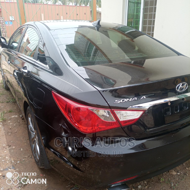 Hyundai Sonata 2012 Black | Cars for sale in Abule Egba, Lagos State, Nigeria
