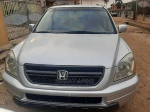 Honda Pilot 2003 EX 4x4 (3.5L 6cyl 5A) Silver | Cars for sale in Oyo State, Ido