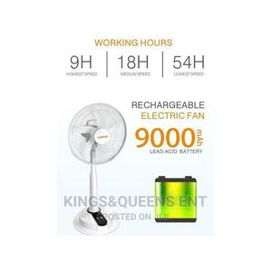 """Lontor Rechargeable Fan With Long Battery - 16"""" Inches 