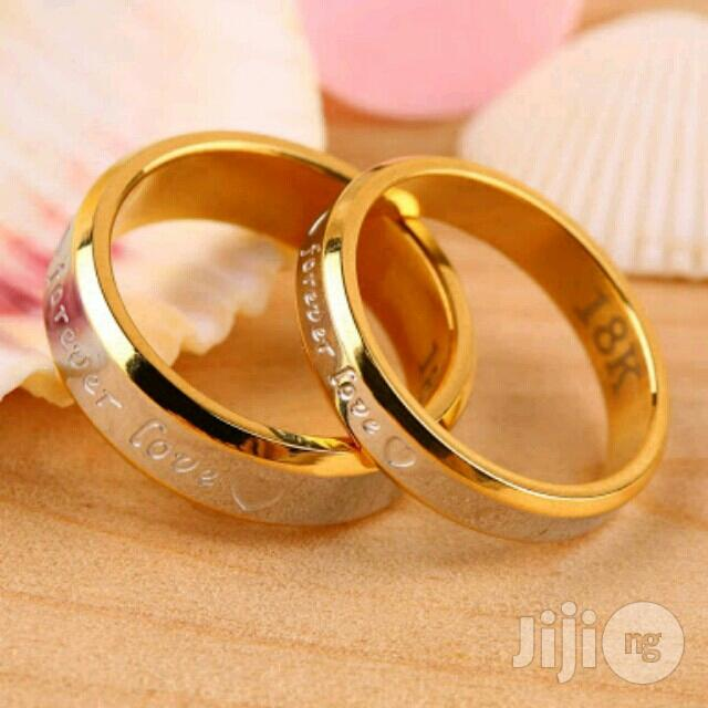 Gold Wedding Ring Engagement Ring Jewelry Set Of 2