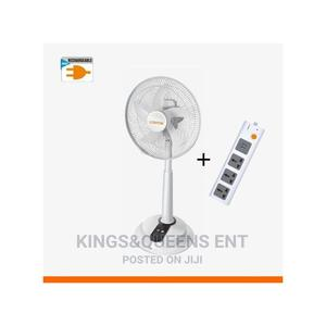 Lontor Rechargeable Fan With Plus Power Socket | Home Appliances for sale in Lagos State, Lagos Island (Eko)