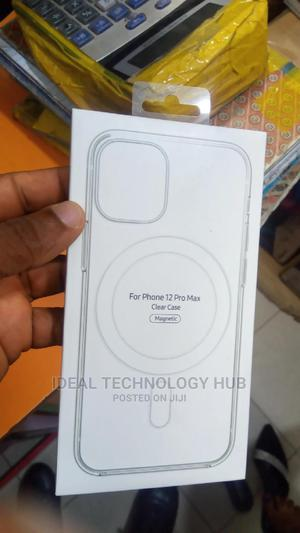 iPhone 12 Pro Max Clear Magnetic Magsafe Case | Accessories for Mobile Phones & Tablets for sale in Lagos State, Ikeja