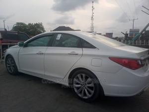 Hyundai Sonata 2012 White | Cars for sale in Lagos State, Ajah
