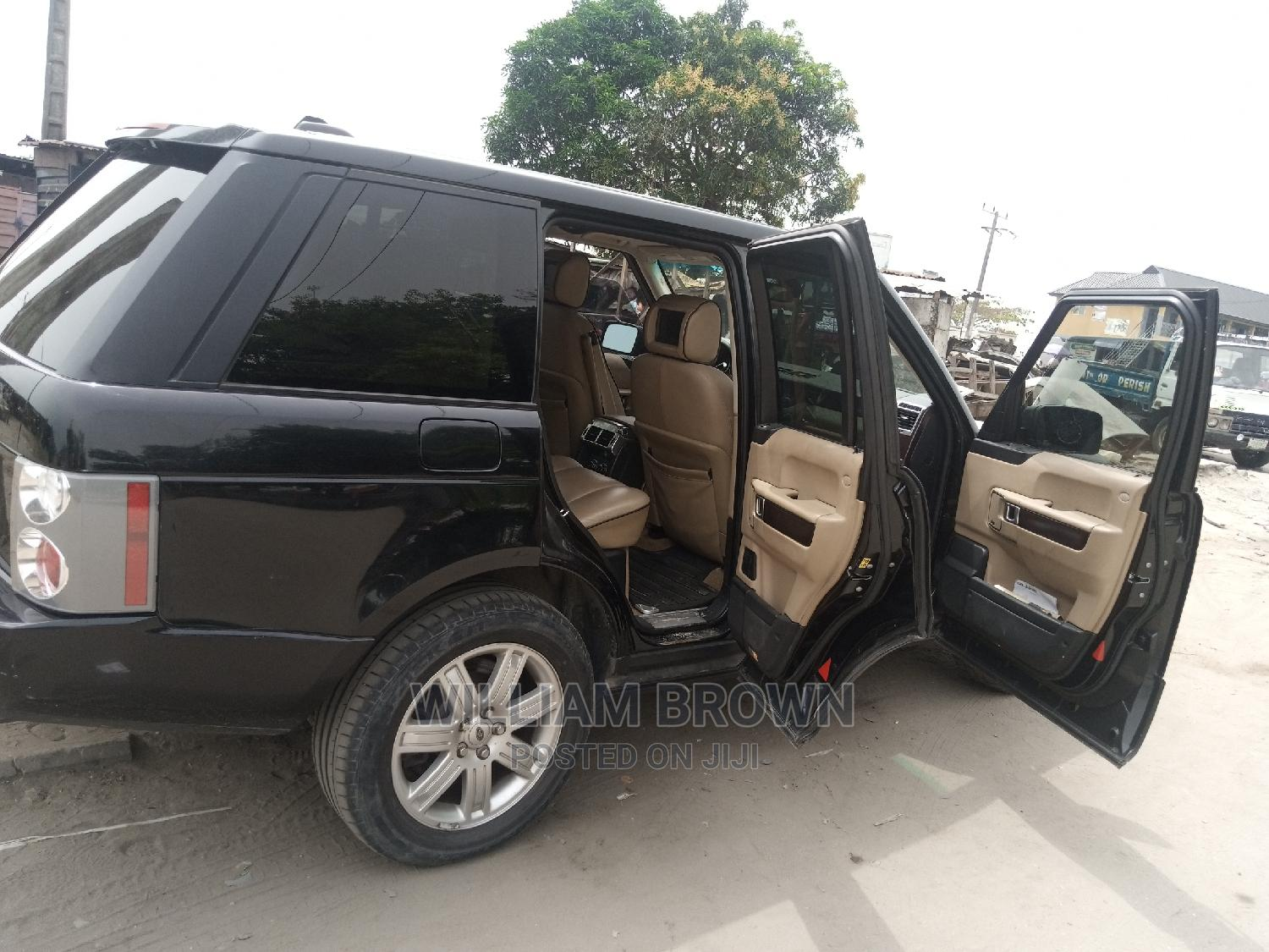 Land Rover Range Rover Vogue 2007 Black | Cars for sale in Ibeju, Lagos State, Nigeria