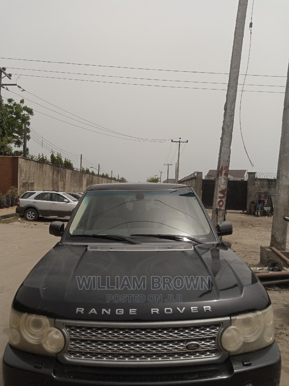 Land Rover Range Rover Vogue 2007 Black