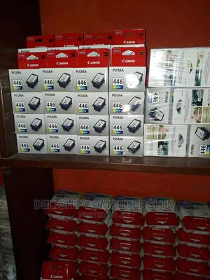 Canon 446 Ink Cartridge for Printer - Tri-Color   Accessories & Supplies for Electronics for sale in Lagos State, Ikeja