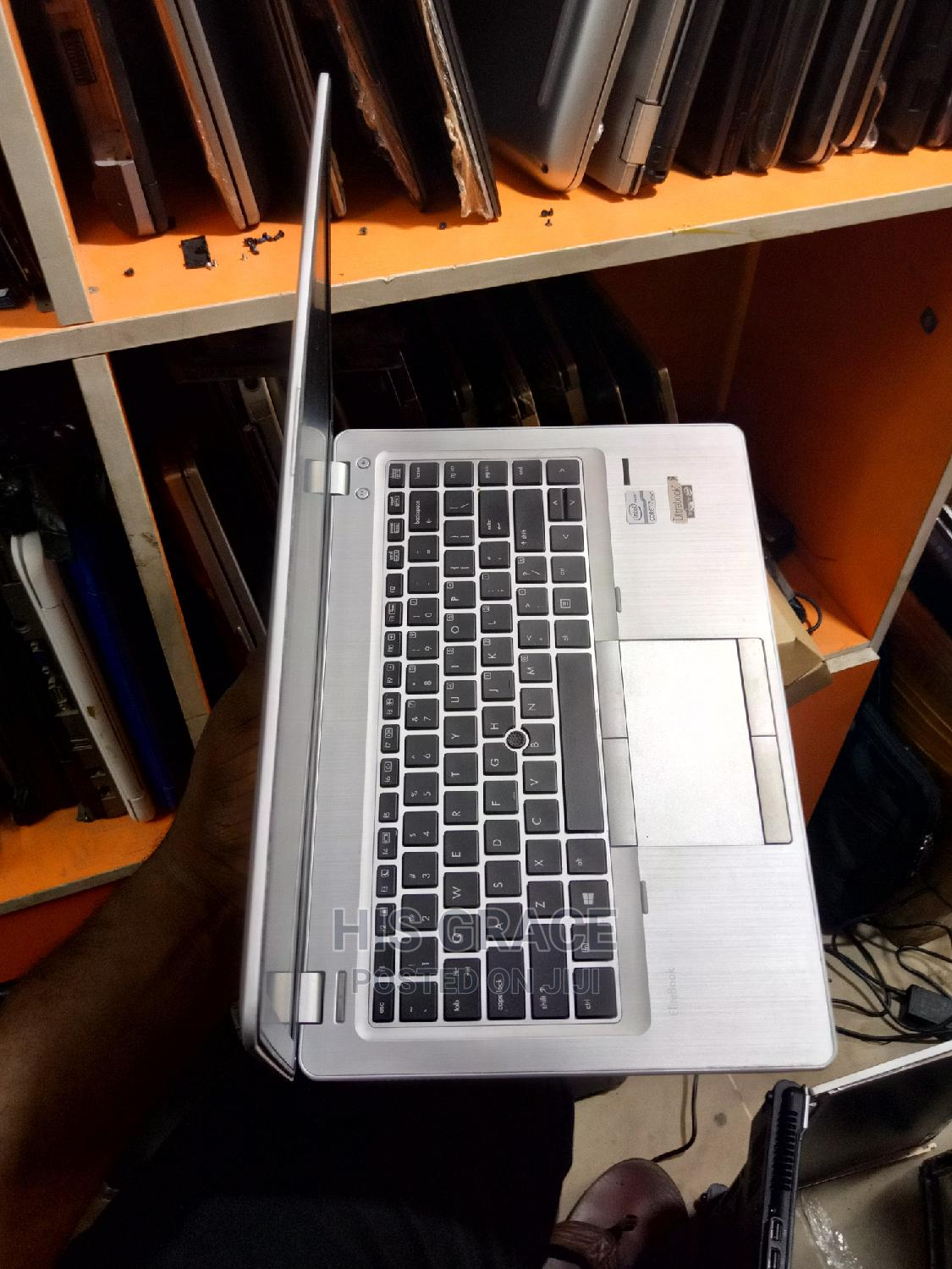Laptop HP EliteBook Folio 9470M 4GB Intel Core I7 HDD 500GB | Laptops & Computers for sale in Ikeja, Lagos State, Nigeria
