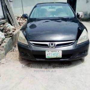 Honda Accord 2005 Black   Cars for sale in Lagos State, Surulere