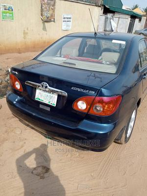 Toyota Corolla 2005 LE Blue   Cars for sale in Anambra State, Onitsha