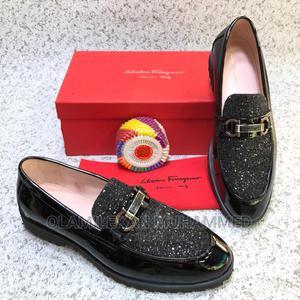 Salvatore Ferragamo Velvet Shoe   Shoes for sale in Lagos State, Lagos Island (Eko)