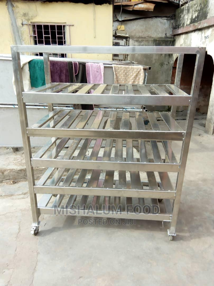 Industrial Manufactured Stainless Bread Cooling Rack