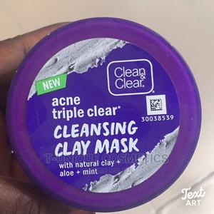 Clear Clear Acne Triple Clear Cleansing Clay Mask   Skin Care for sale in Lagos State, Ikorodu
