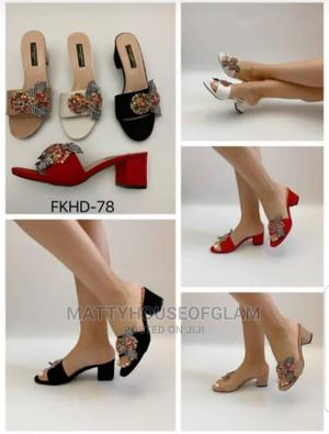 Low Block Heel Slippers | Shoes for sale in Lagos State, Lekki