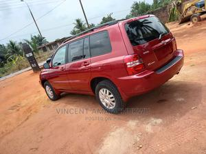 Toyota Highlander 2002 Limited V6 FWD Red | Cars for sale in Anambra State, Nnewi