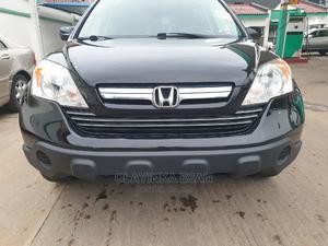 Honda CR-V 2008 2.4 EX-L 4x4 Automatic Black   Cars for sale in Lagos State, Alimosho