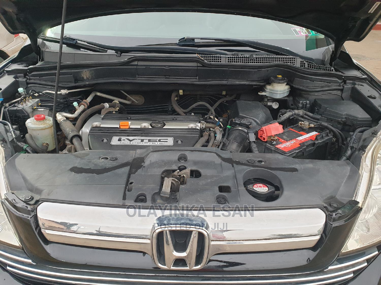 Honda CR-V 2008 2.4 EX-L 4x4 Automatic Black | Cars for sale in Alimosho, Lagos State, Nigeria