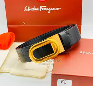 Original Salvatore Ferragamo Leather Belts Available Now | Clothing Accessories for sale in Lagos State, Lagos Island (Eko)