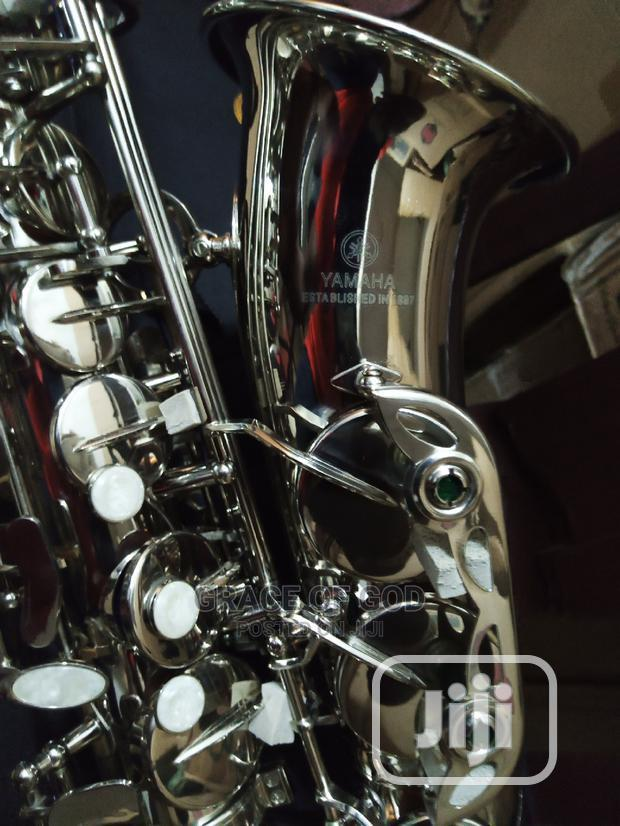 Professional Yamaha Silver Saxophone   Musical Instruments & Gear for sale in Ikeja, Lagos State, Nigeria