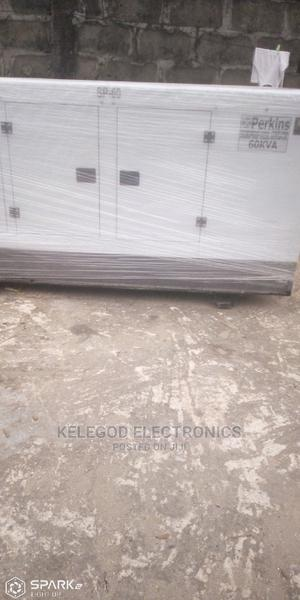 60 Kva Perkins Soundproof Diesel Generator | Electrical Equipment for sale in Lagos State, Ogba