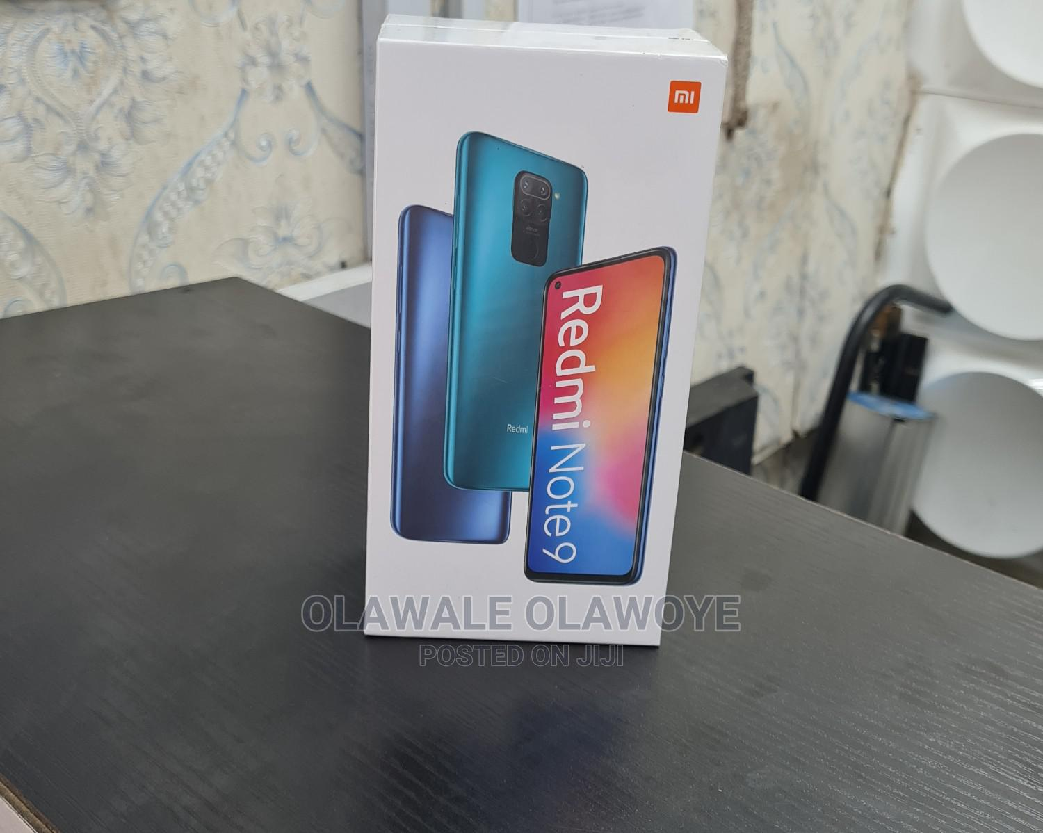 New Xiaomi Redmi Note 9 128 GB | Mobile Phones for sale in Ikeja, Lagos State, Nigeria