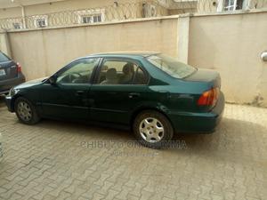Honda Civic 1998 LX 4dr Sedan Green | Cars for sale in Abuja (FCT) State, Apo District