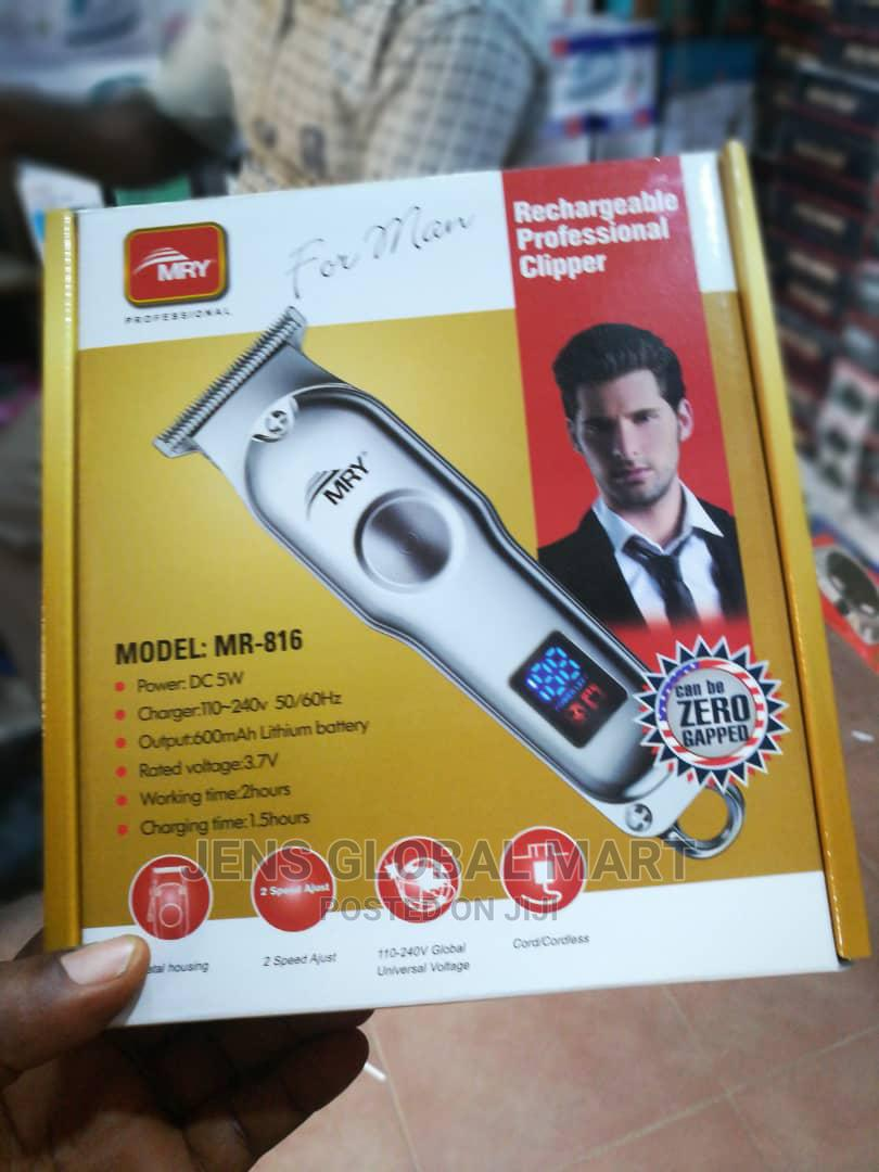 MRY Rechargeable Professional Clipper | Tools & Accessories for sale in Ikeja, Lagos State, Nigeria