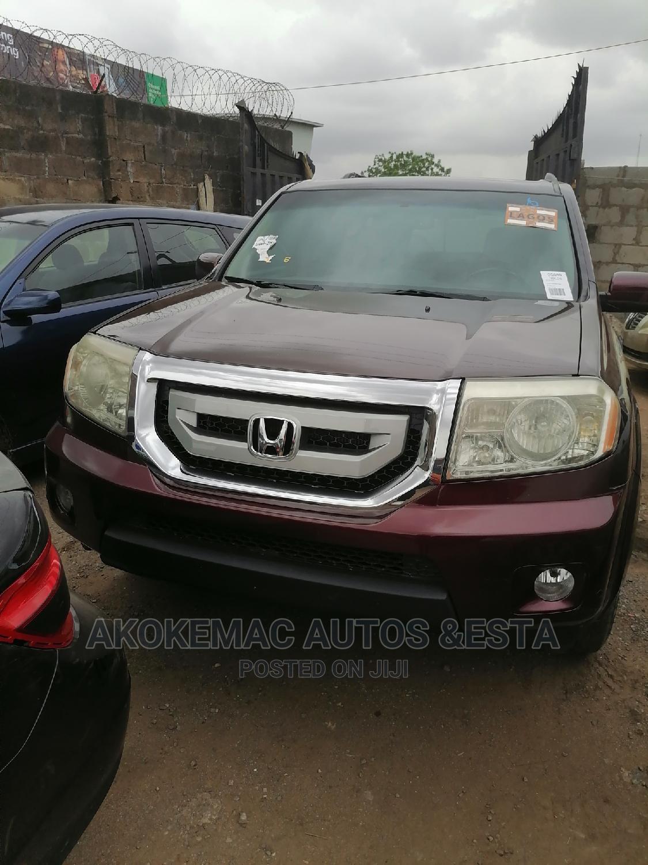 Honda Pilot 2010 Red | Cars for sale in Ikeja, Lagos State, Nigeria