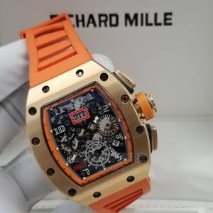 High Quality Richard Mille Rubber Watch for Men | Watches for sale in Lagos State, Magodo