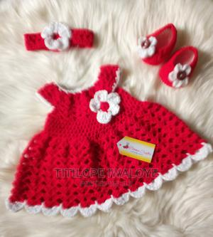 Crochet Newborn Baby Gown | Children's Clothing for sale in Lagos State, Ikeja