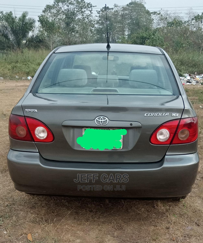 Archive: Toyota Corolla 2006 CE Gray