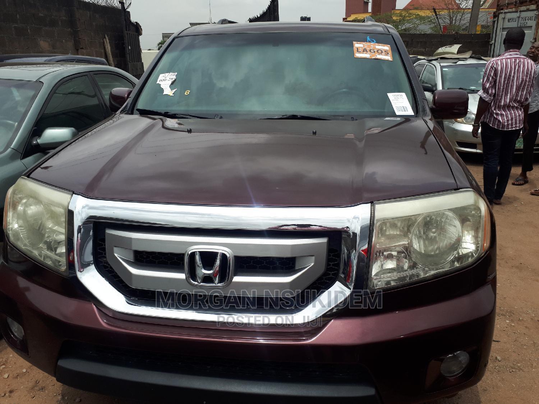 Honda Pilot 2010 Red   Cars for sale in Ikeja, Lagos State, Nigeria